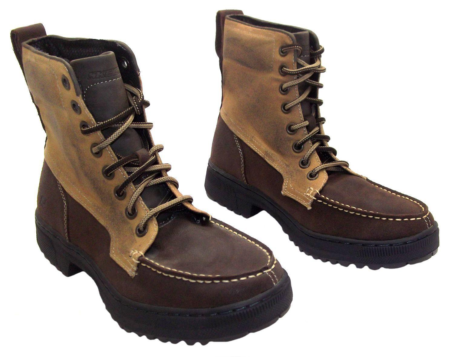 Mens Brown Combat Boots BBdwEwyj