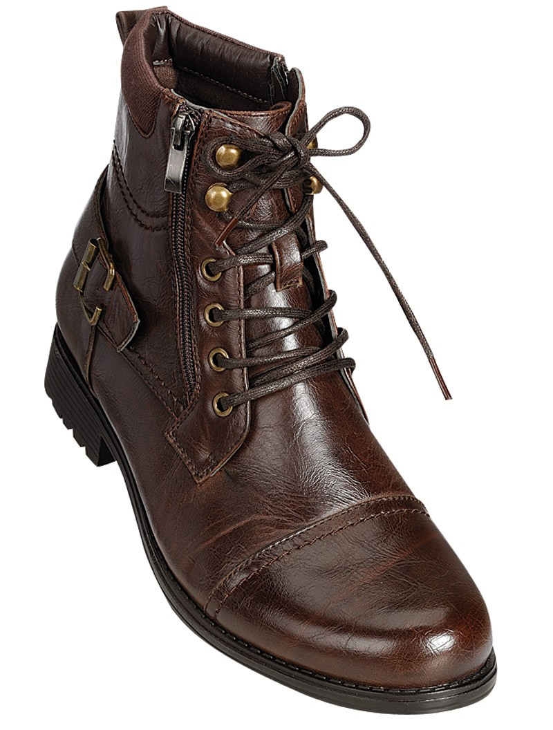 Mens Brown Combat Boots dWbW9saE