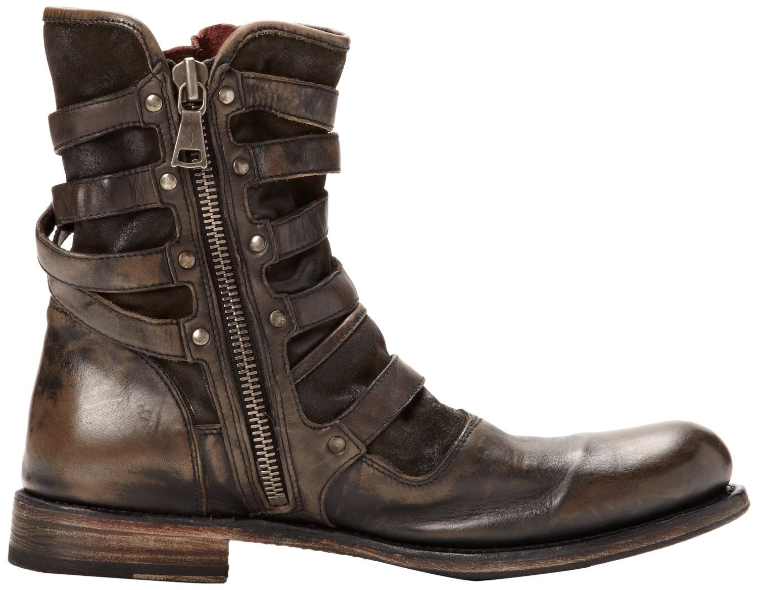 Mens Buckle Boots 804CtyBb