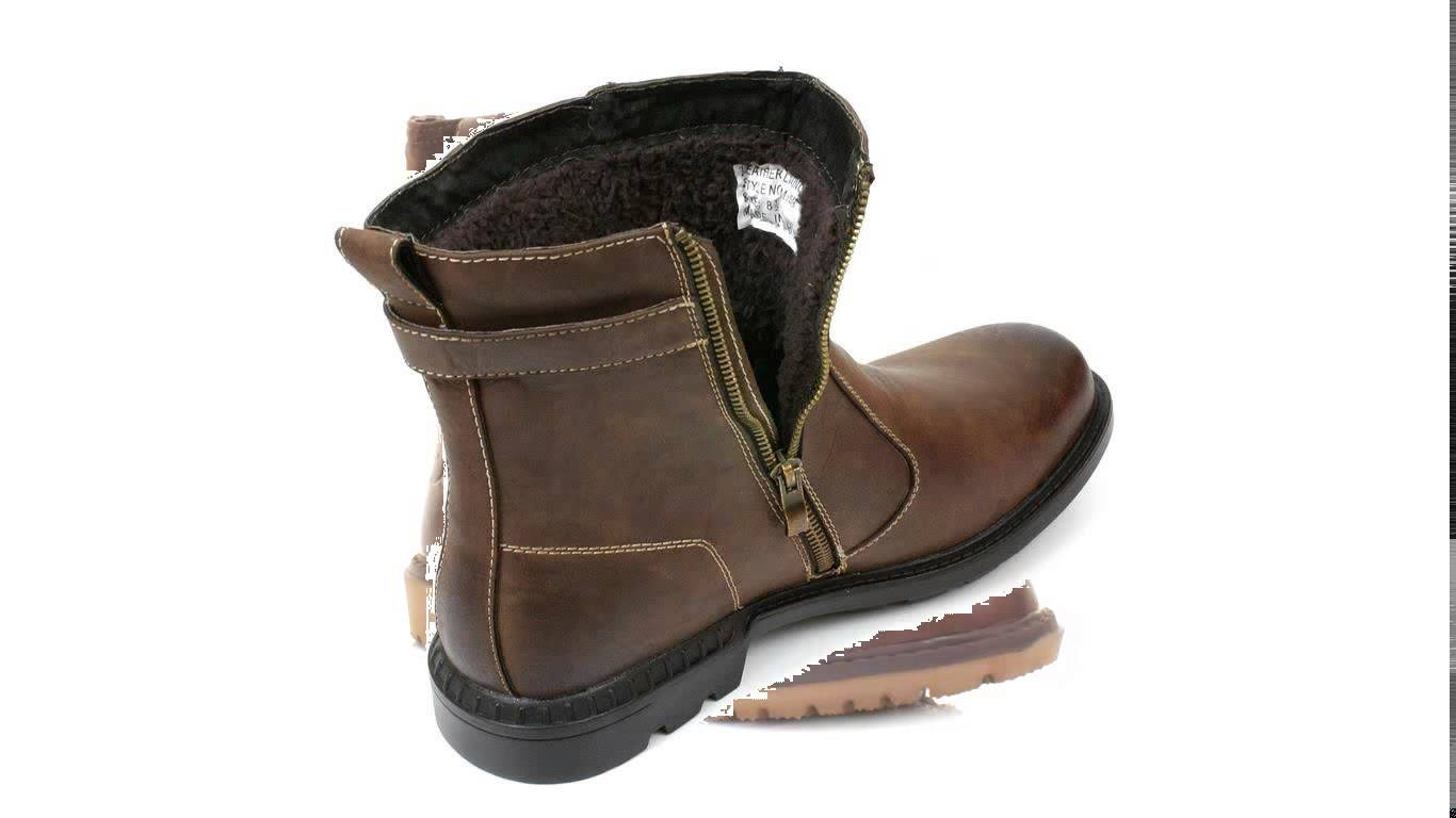 Mens Fur Lined Boots d5PiWpEn