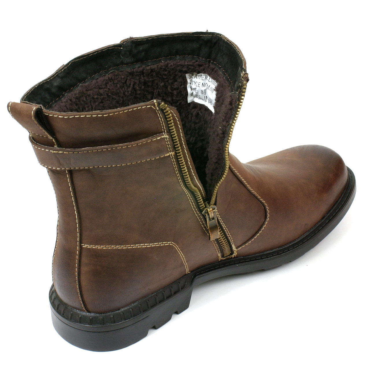 Mens Fur Lined Boots nRDSyMFx