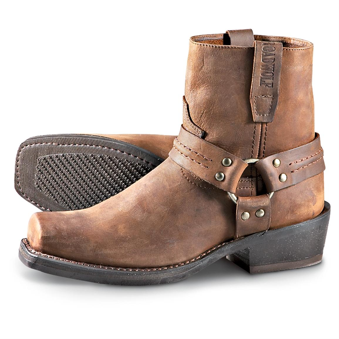 Mens Harness Boots 83heysqs