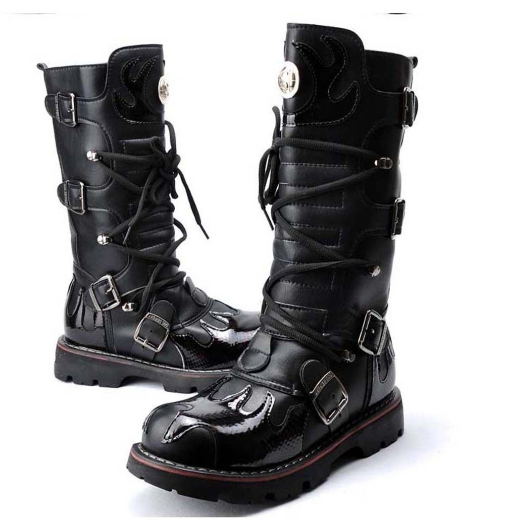 Mens High Top Boots ZUZLtr5P