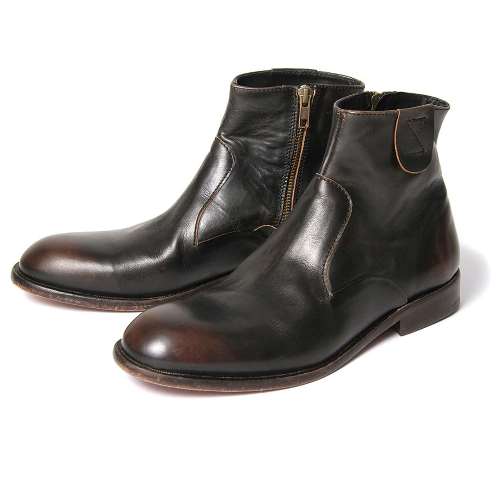 Mens Leather Ankle Boots ijkF1FNW