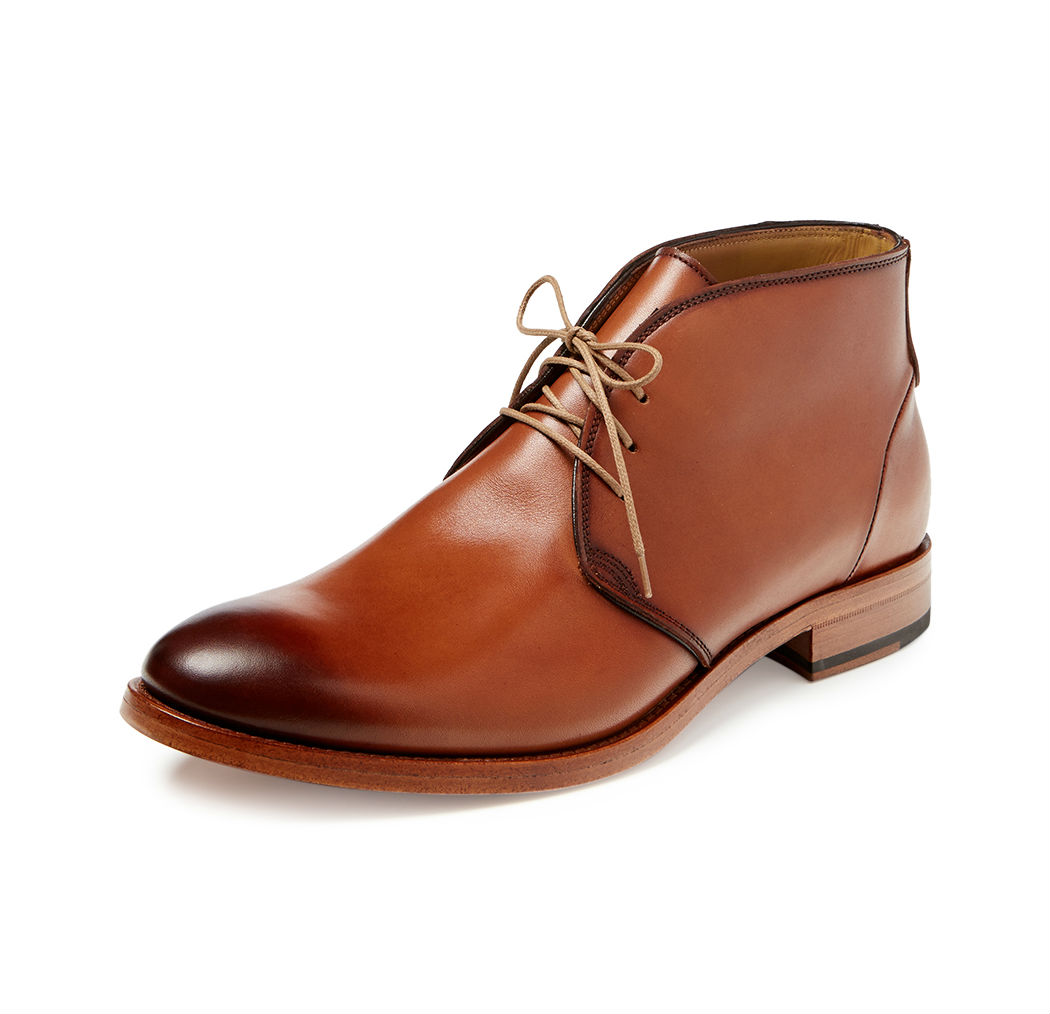 Mens Leather Chukka Boots RBcAmpQy
