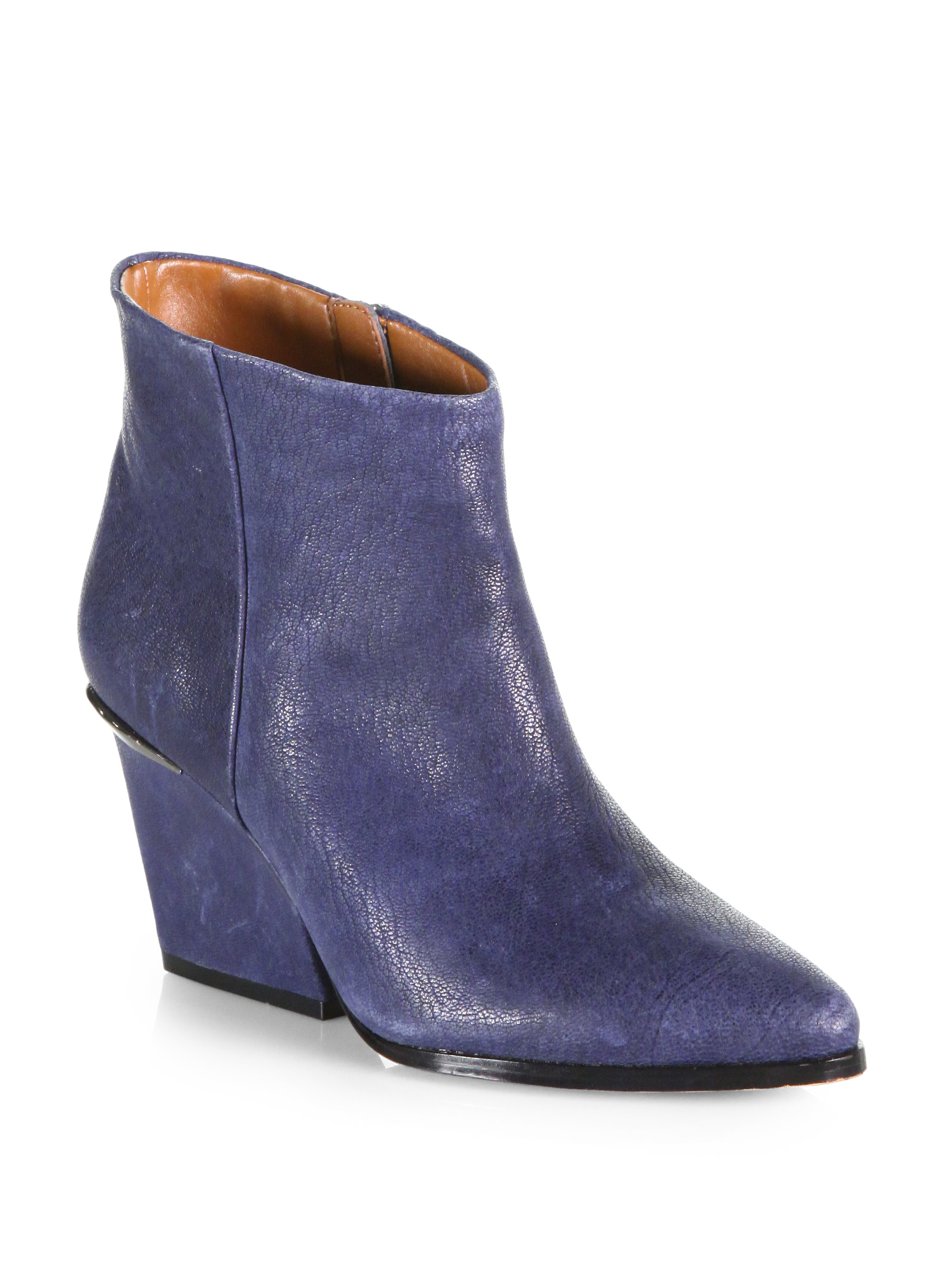 Navy Ankle Boots vGjD4EUY