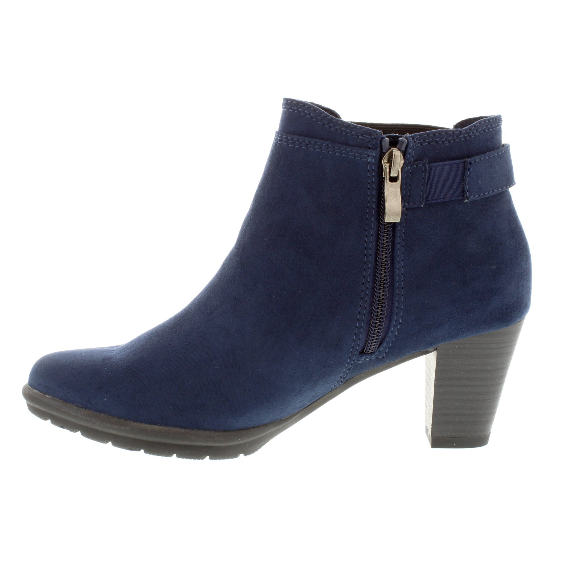 Navy Ankle Boots gfU1V6u8