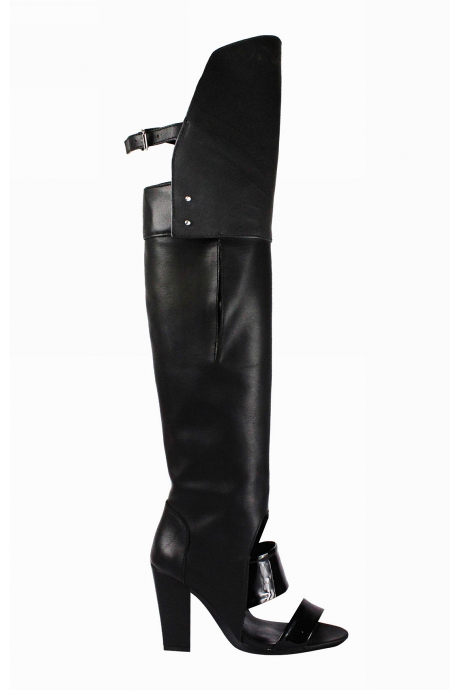 Open Toe Over The Knee Boots yczm5cjq
