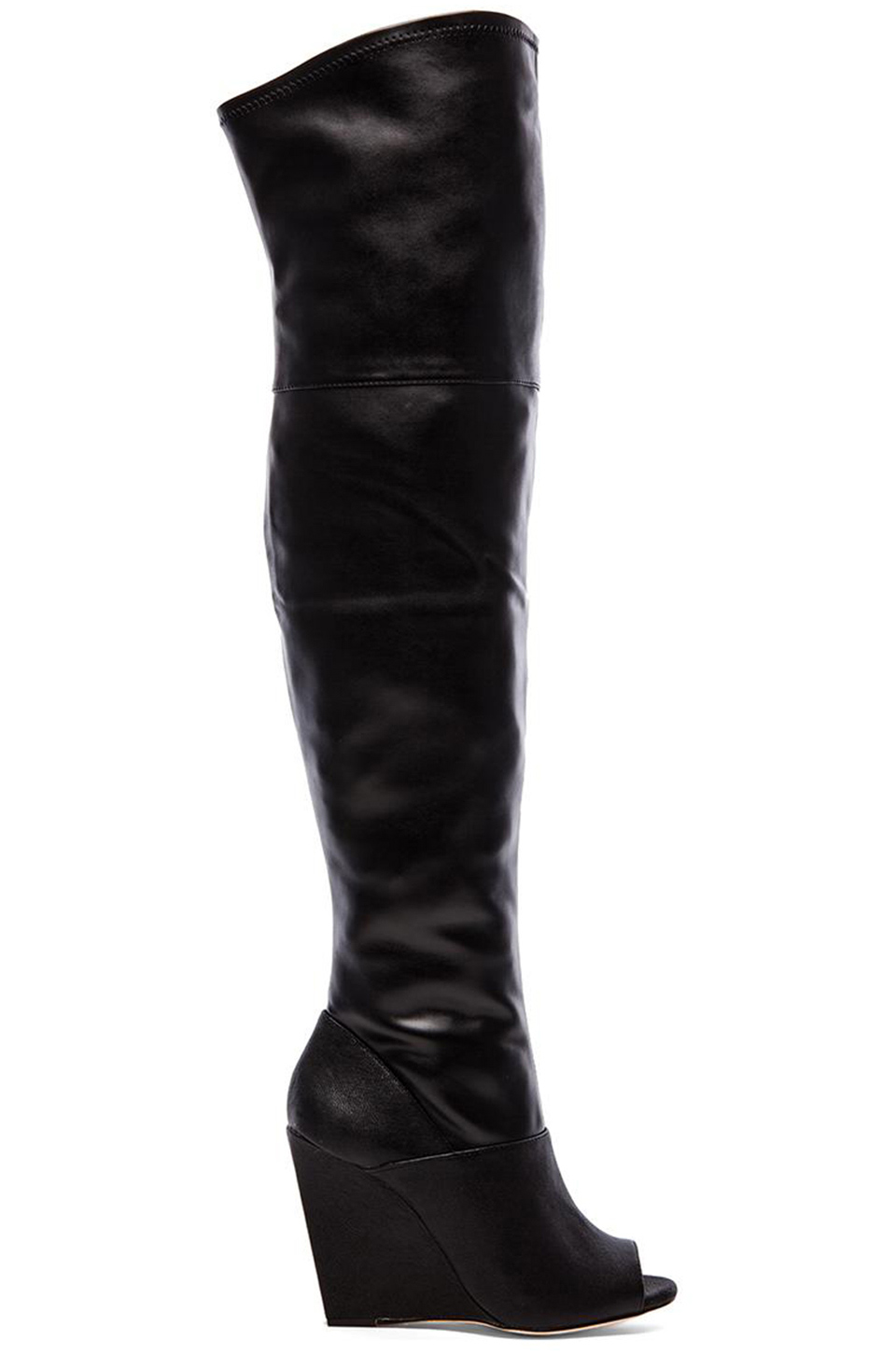 Open Toe Over The Knee Boots Zclfx18d