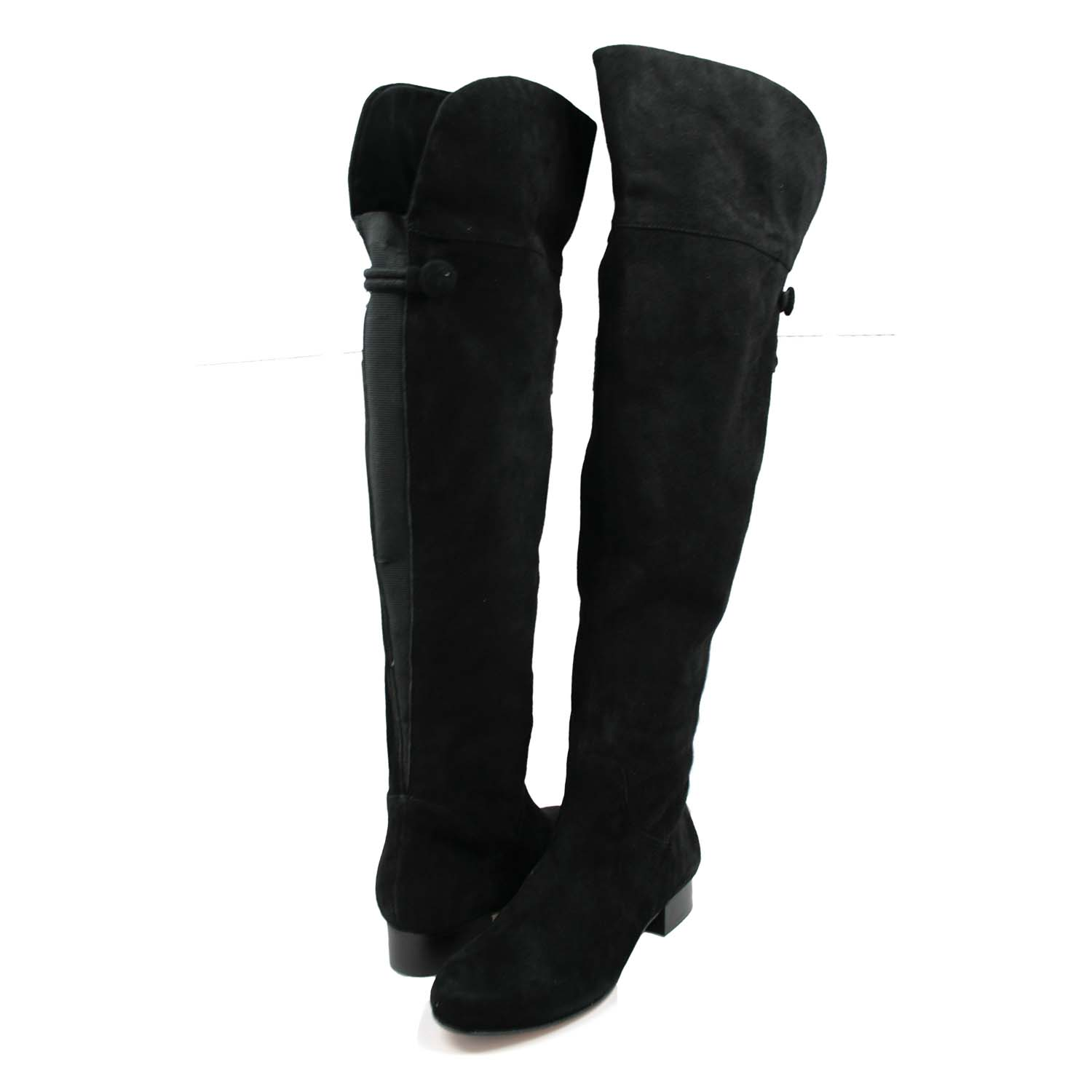 Over The Knee Boots Black Xflcikhw