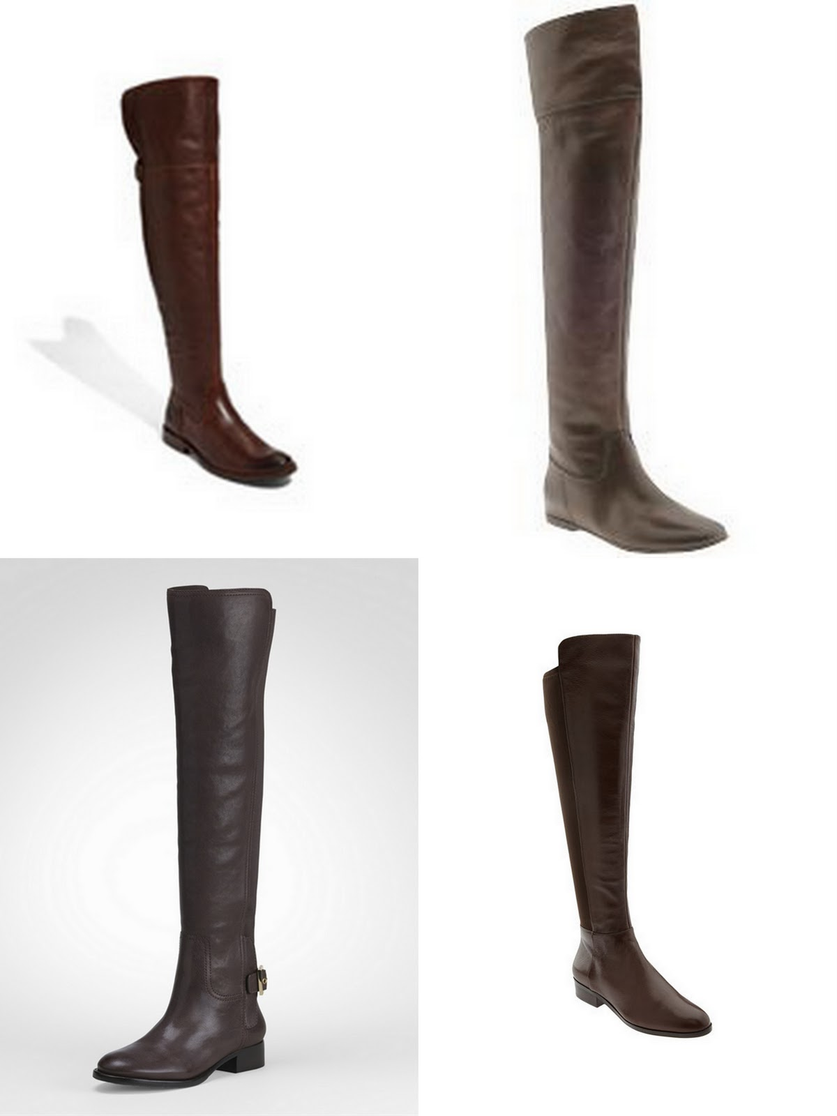 Over The Knee Brown Boots fRxOKt5K