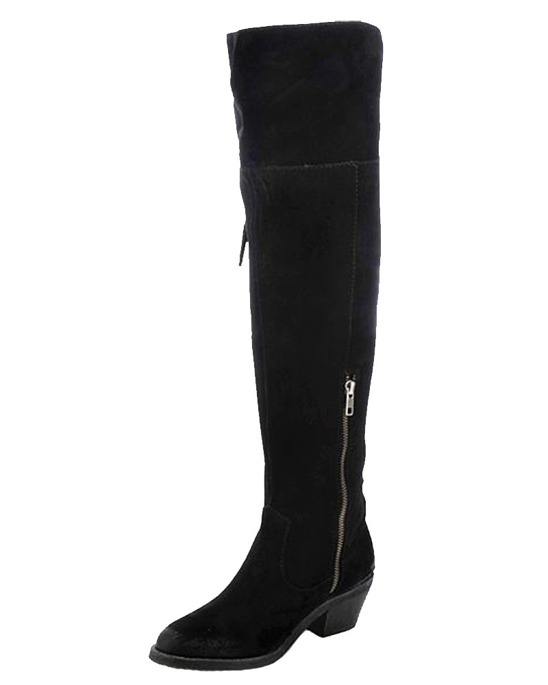 Over The Knee Fringe Boots LLTf66pM