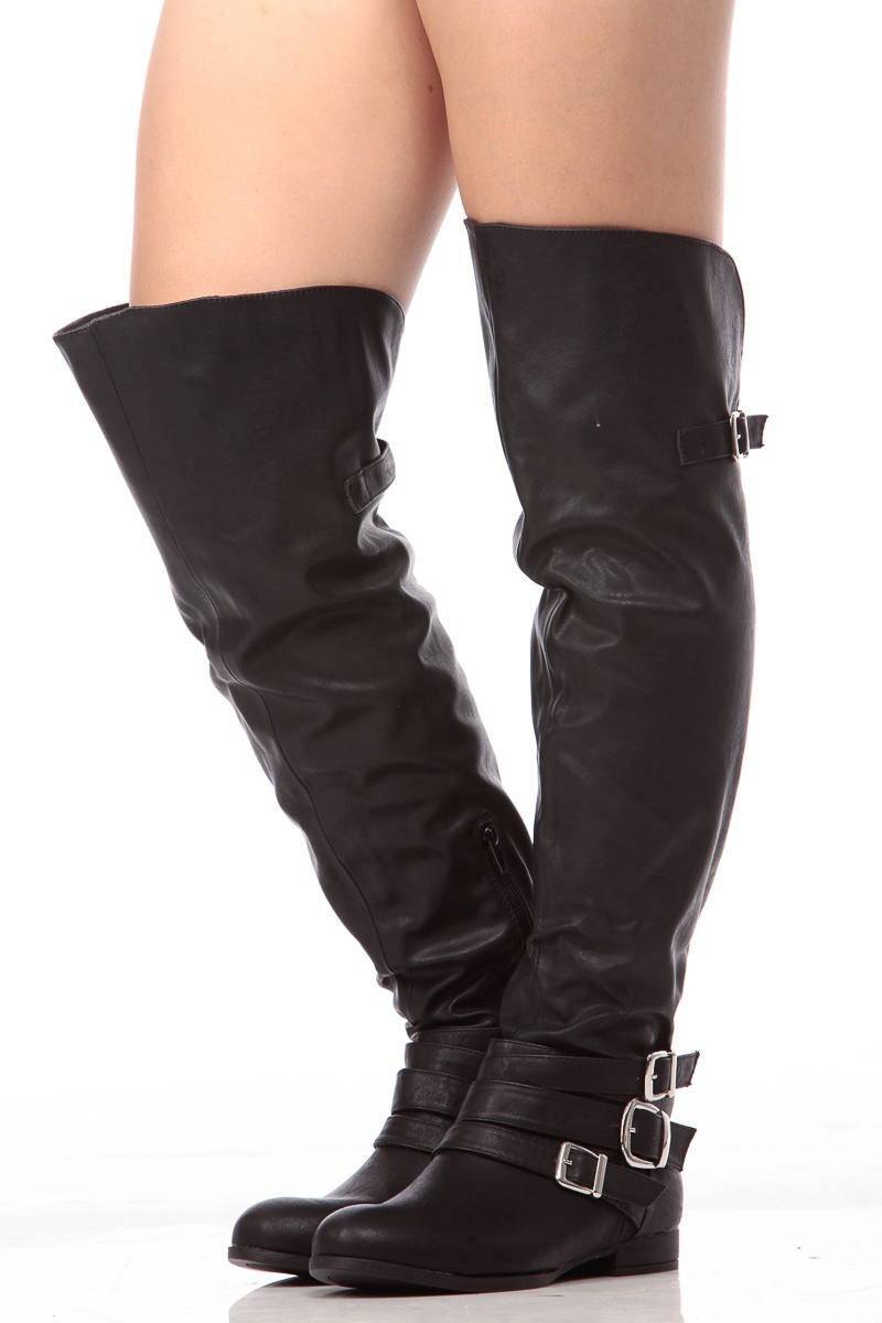 Over The Knee Riding Boots qnfVcX7l