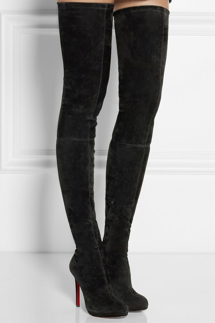 Over The Knee Stretch Boots GCwsfJ1r