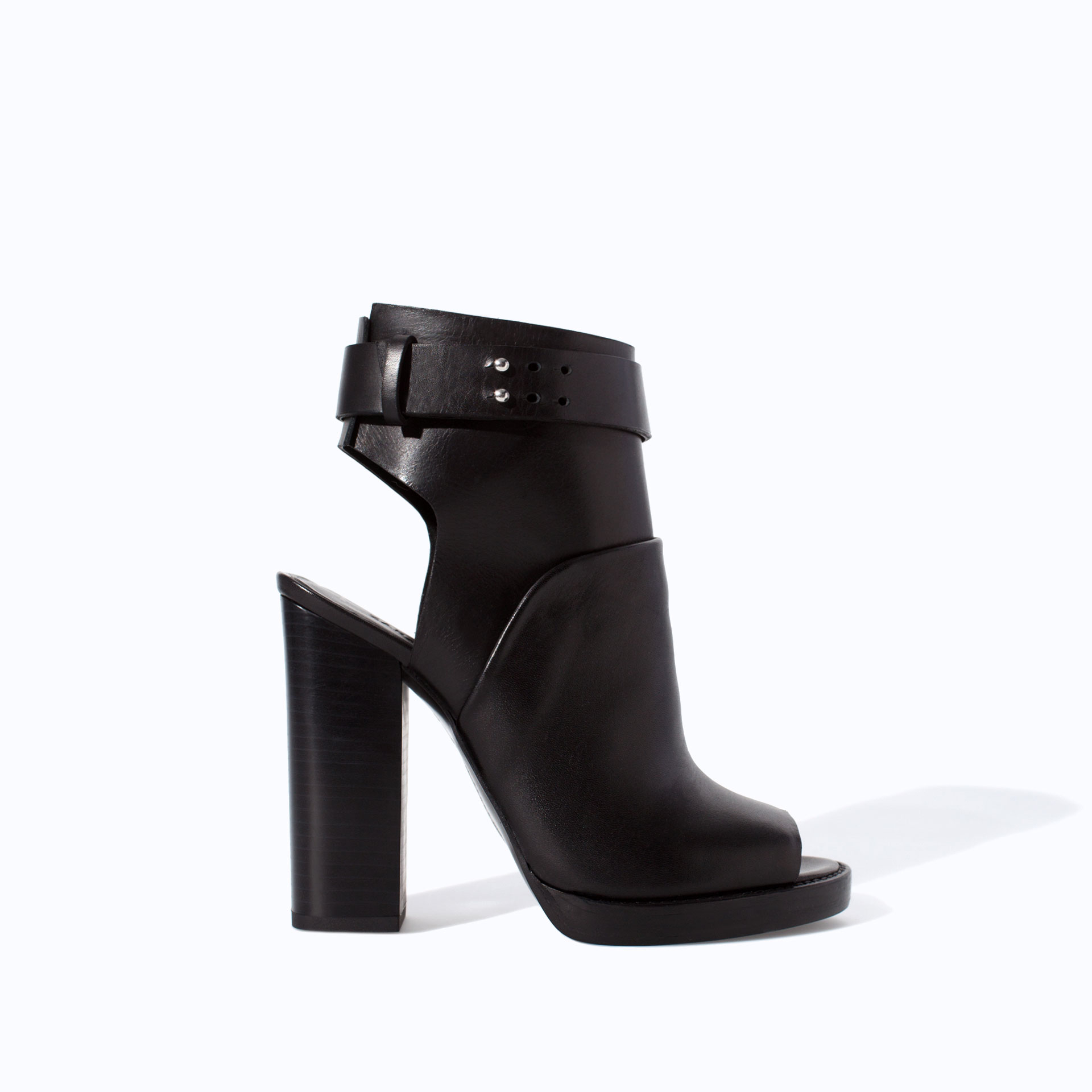 Peep Toe Ankle Boots 7f6NNHaw