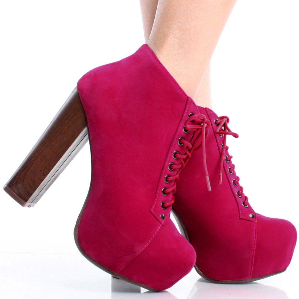 Pink Ankle Boots YsxAcDd0