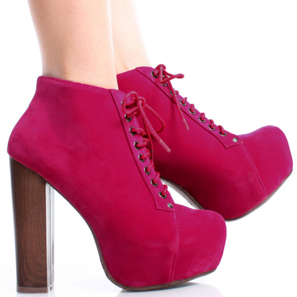 Pink Ankle Boots CLcVJ7Rx