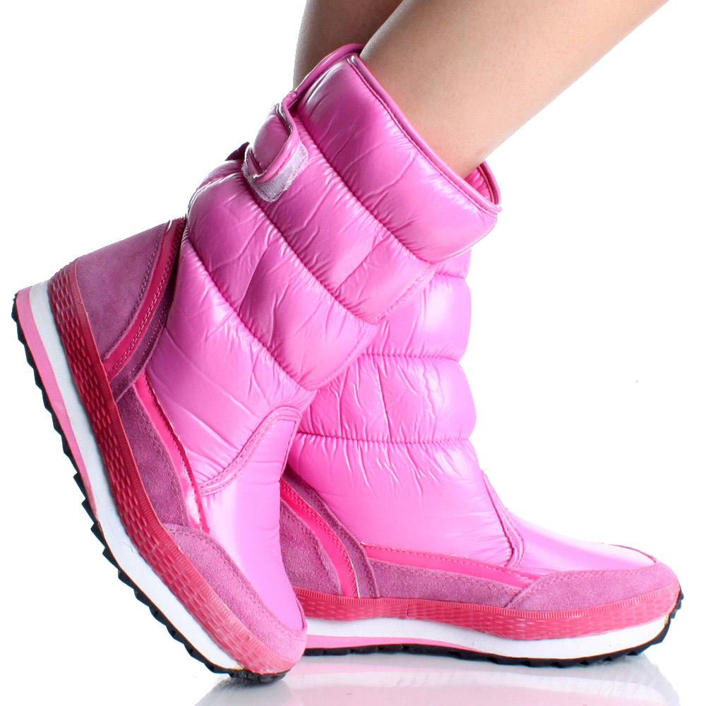 Pink Snow Boots 6oXs1pDs