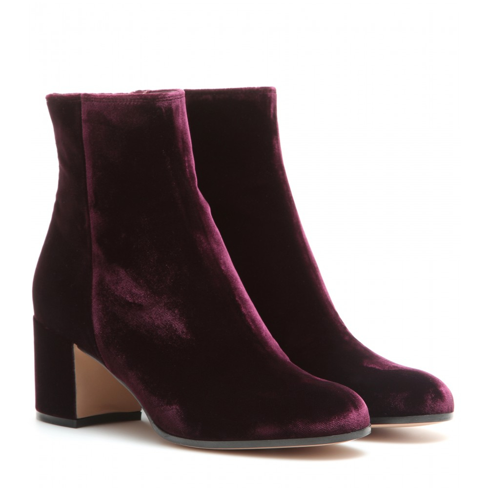 Purple Ankle Boots FeO4bgDI