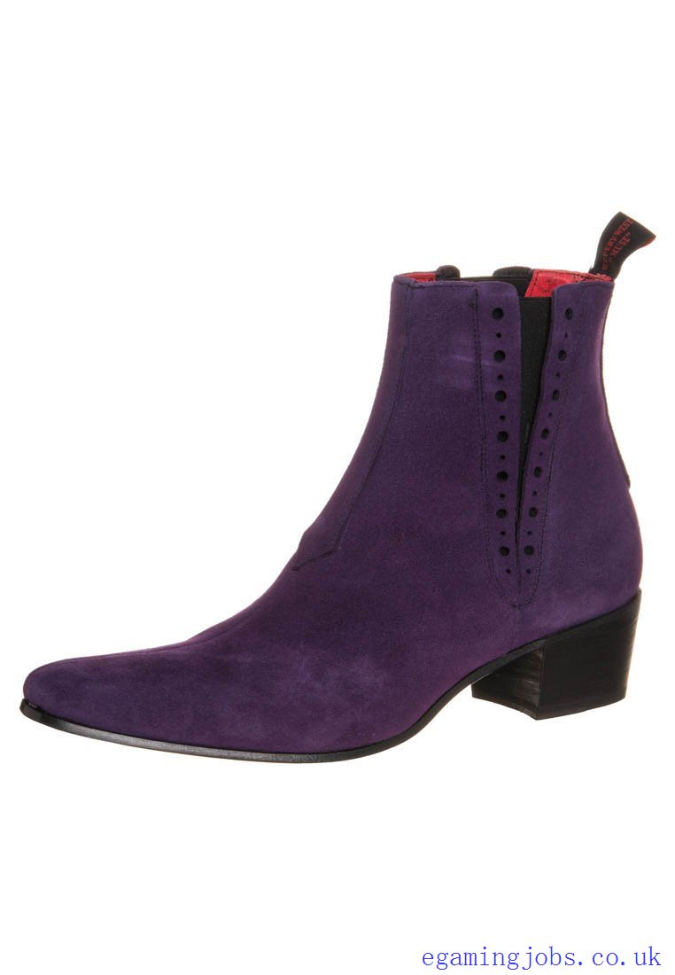 Purple Ankle Boots 0I6G7zWH