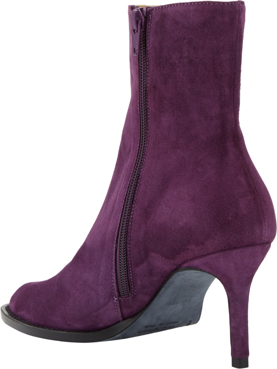 Purple Ankle Boots qkjNyVFw
