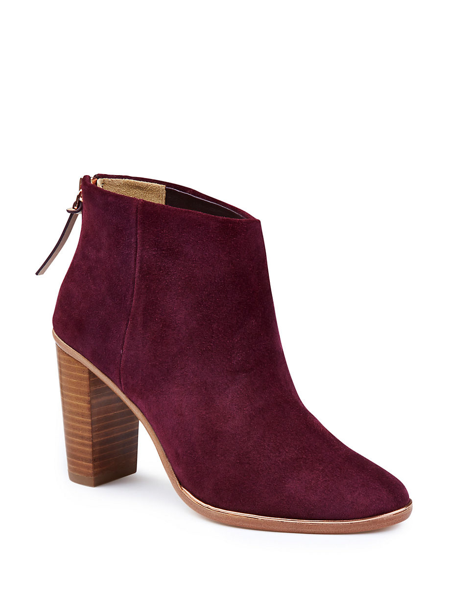 Purple Ankle Boots dwa77W1N