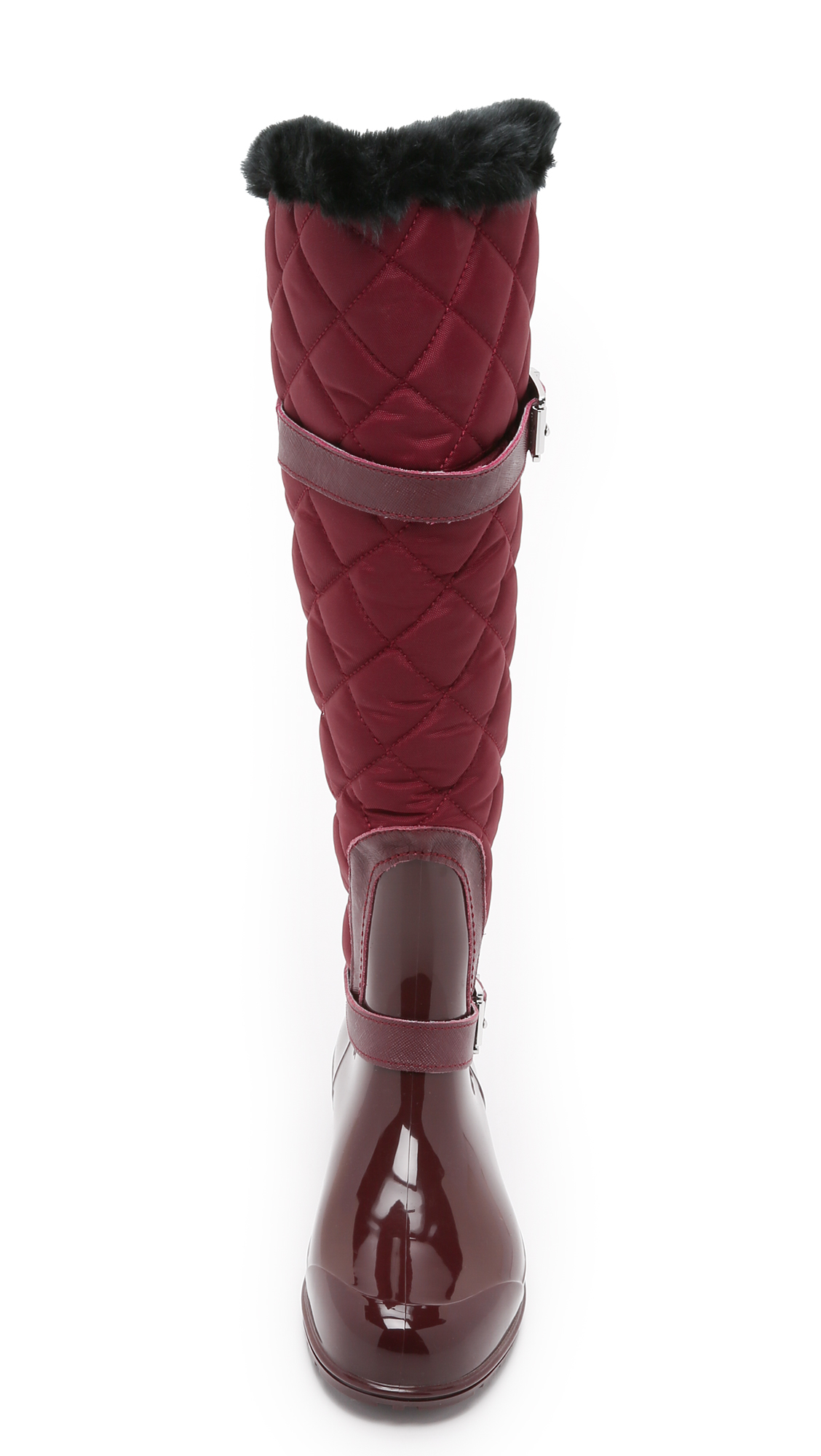 Quilted Rain Boots BA555kUW