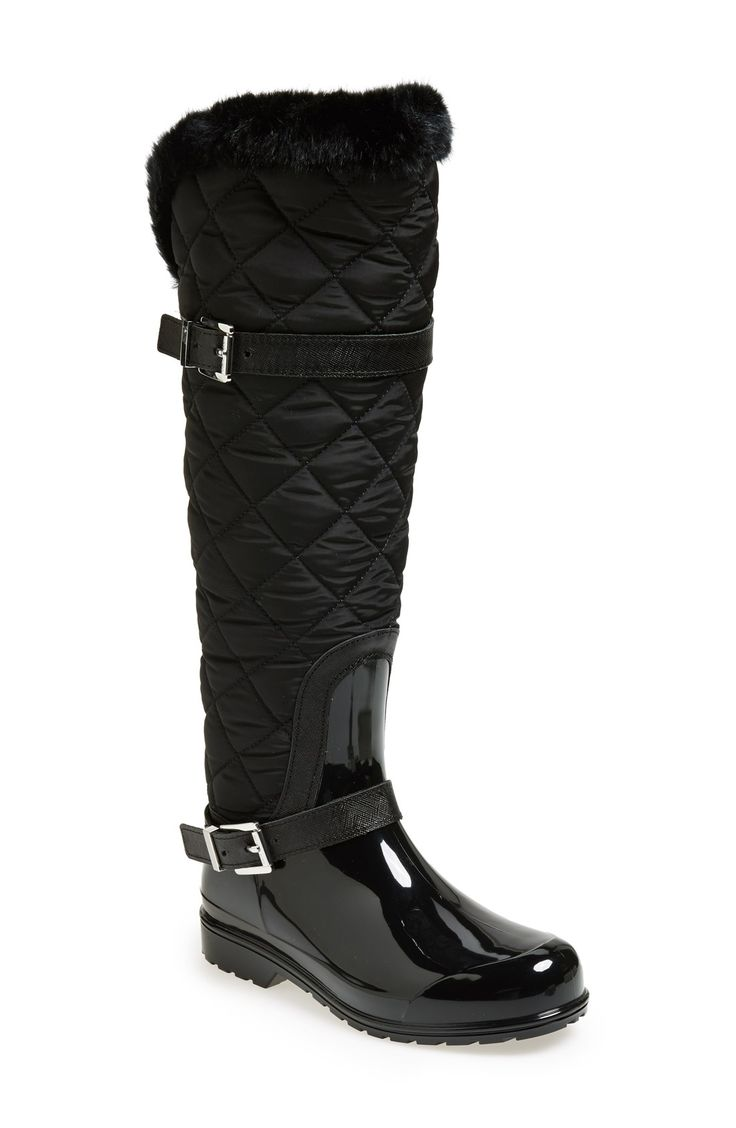 Quilted Rain Boots lXbUqIfx