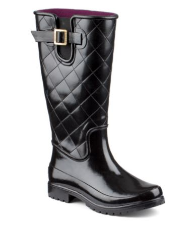 Quilted Rain Boots JmovYnFX