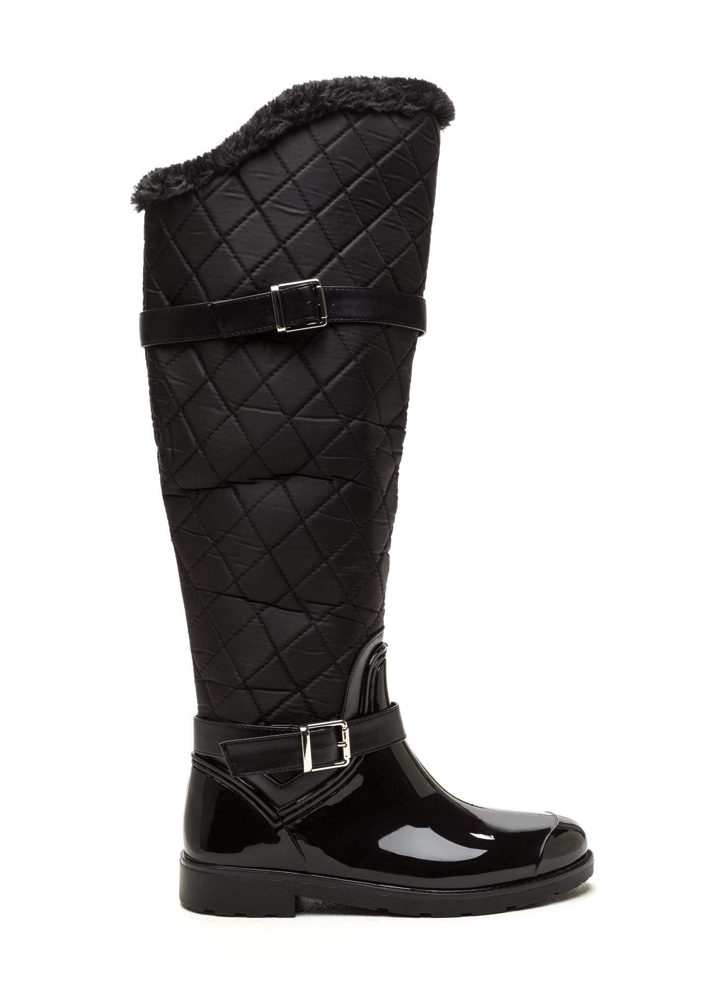 Quilted Rain Boots VEqn0MD4