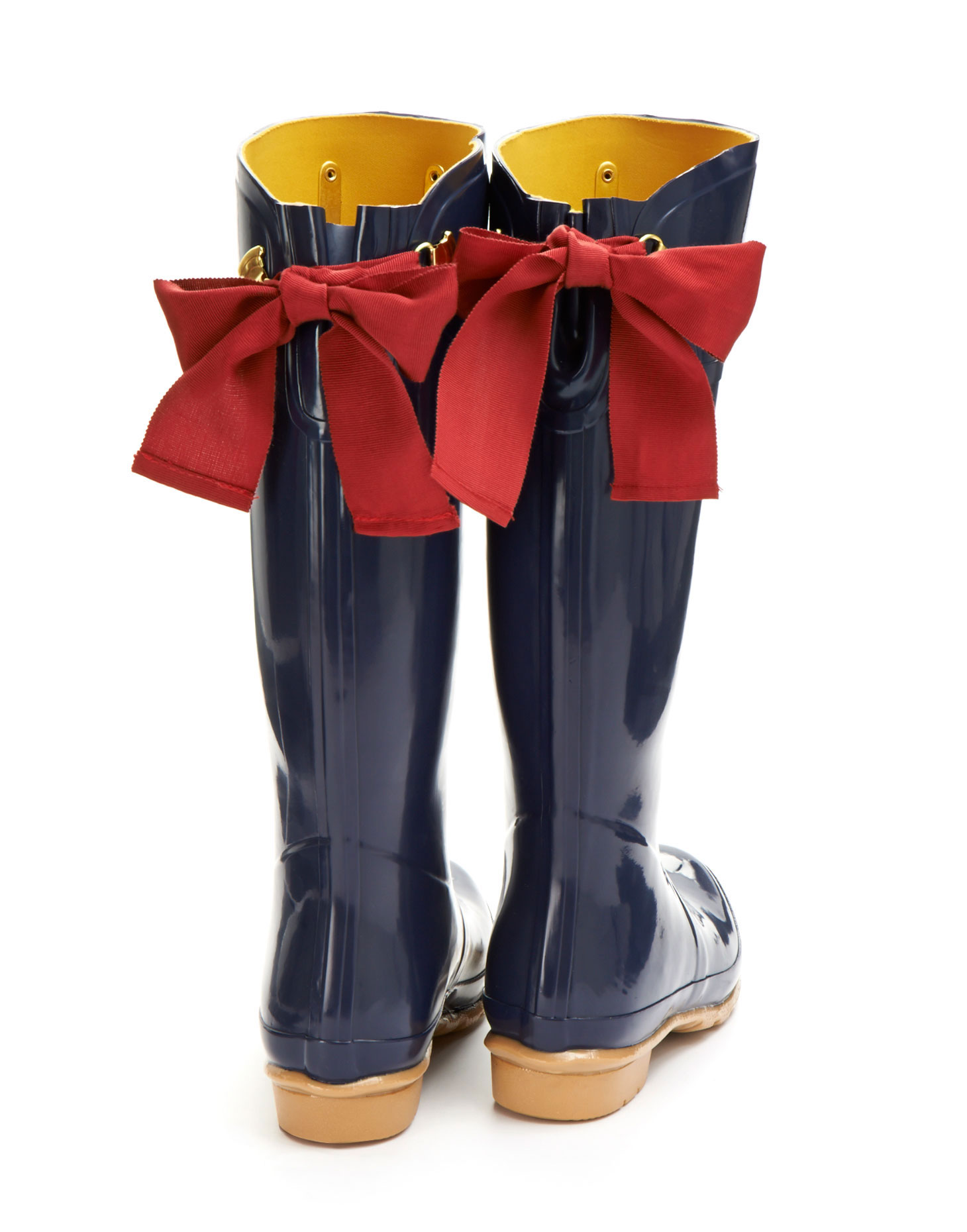Rain Boots With Bows TC4nySct