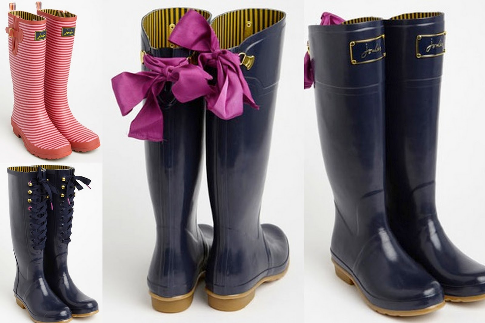 Rain Boots With Bows 37HelF0K