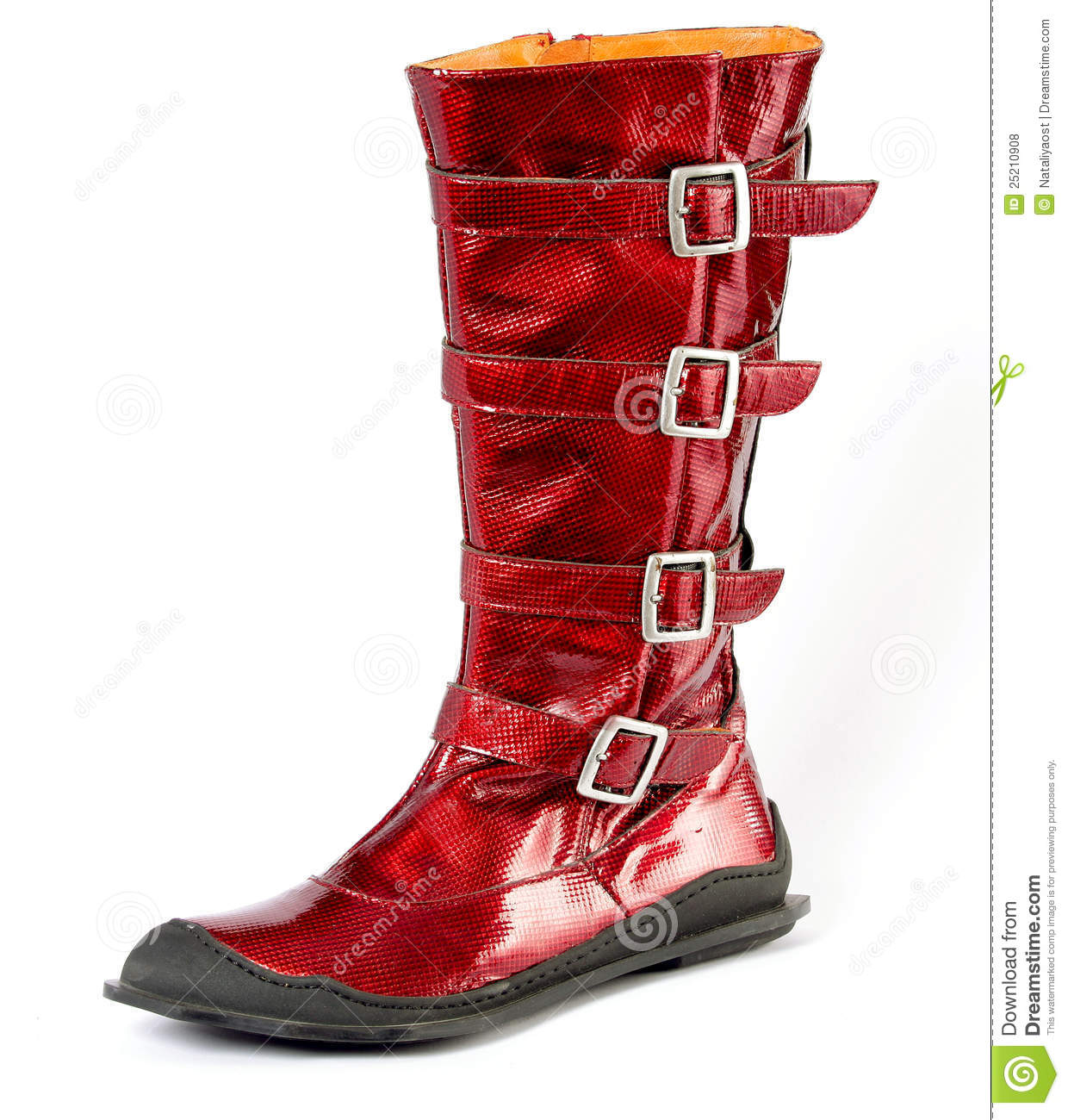 Red Boots For Women YngOrnrk