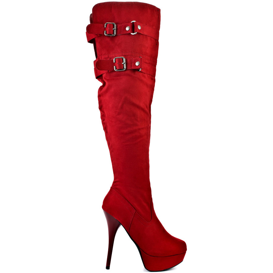 Red Boots For Women v6hdOvv1