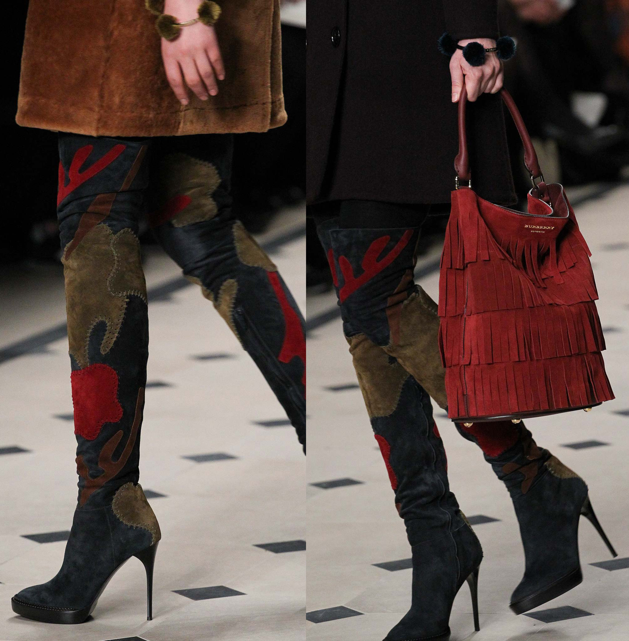 Red Over The Knee Boots qrhwIwg7
