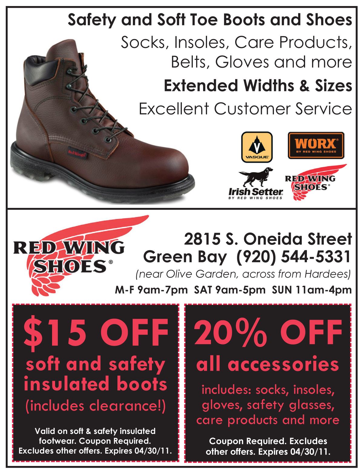 Red Wing Boots Coupons n21EkWpT