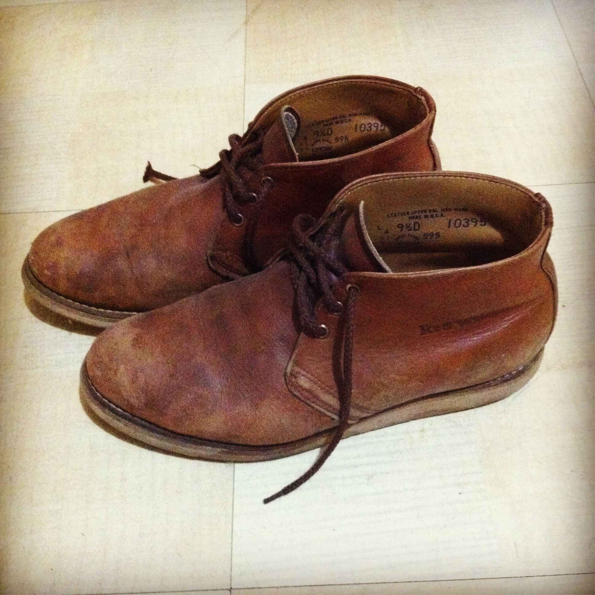 Red Wing Chukka Boots dipsDDdo
