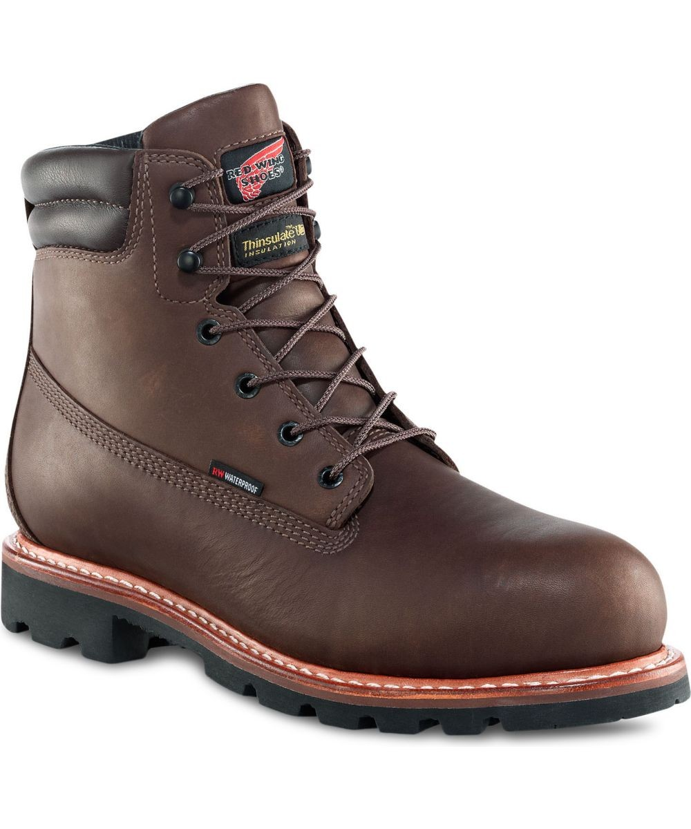 Red Wing Steel Toe Work Boots For Men GRRQFOnl