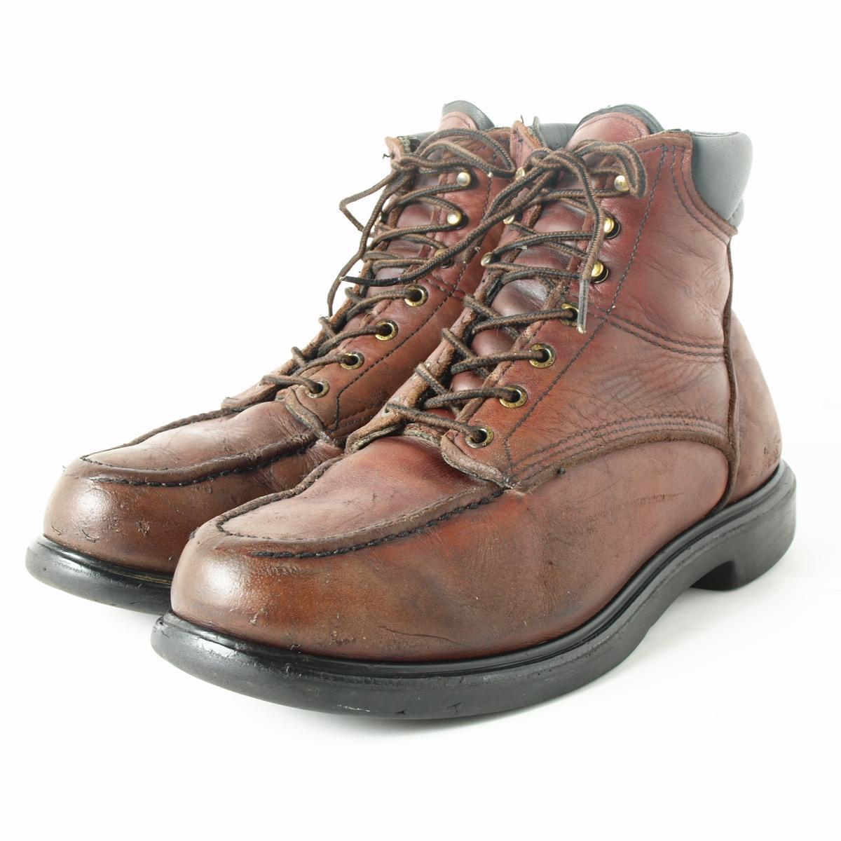 Red Wing Work Boots Men lbbf5VgD