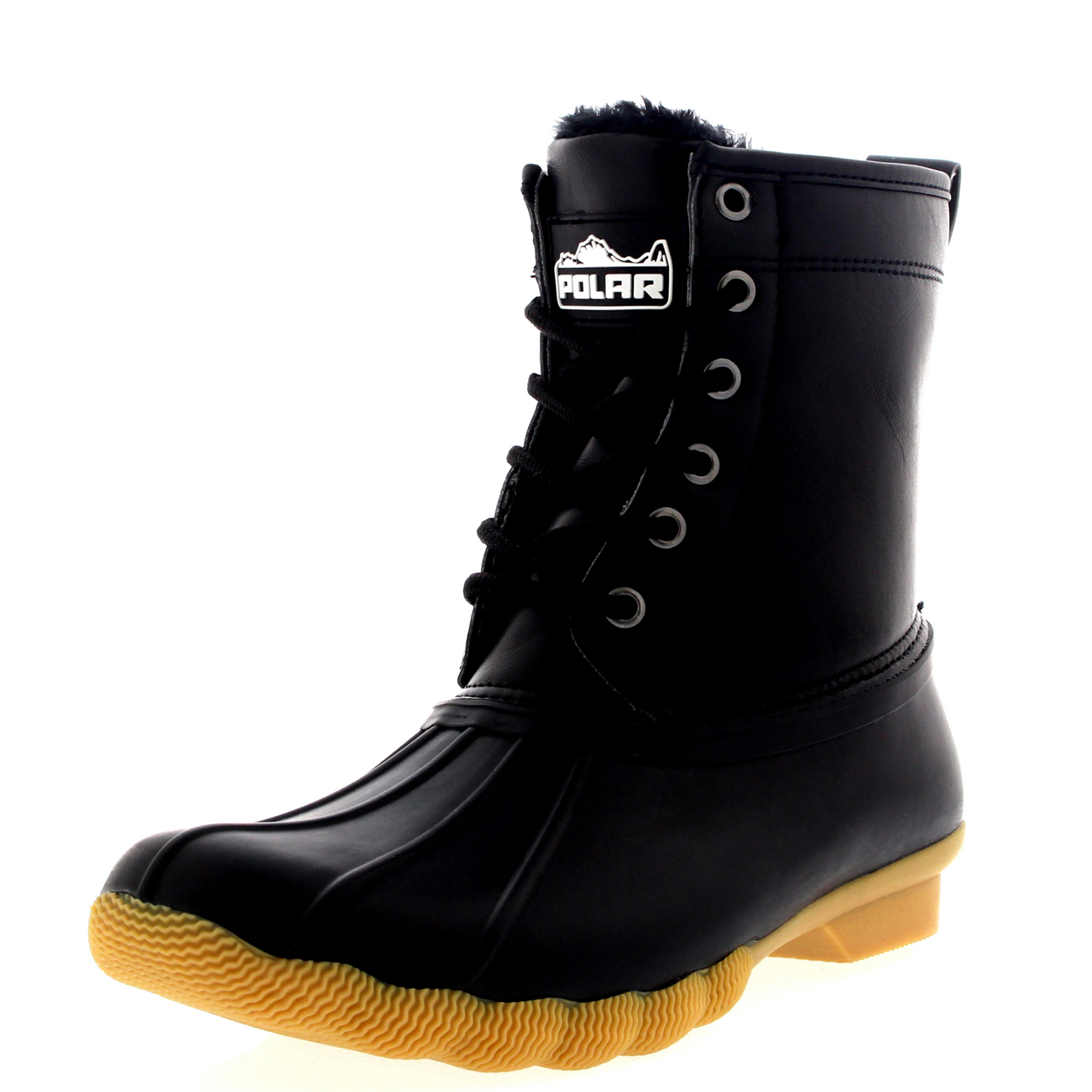 Rubber Snow Boots WlZc63LF