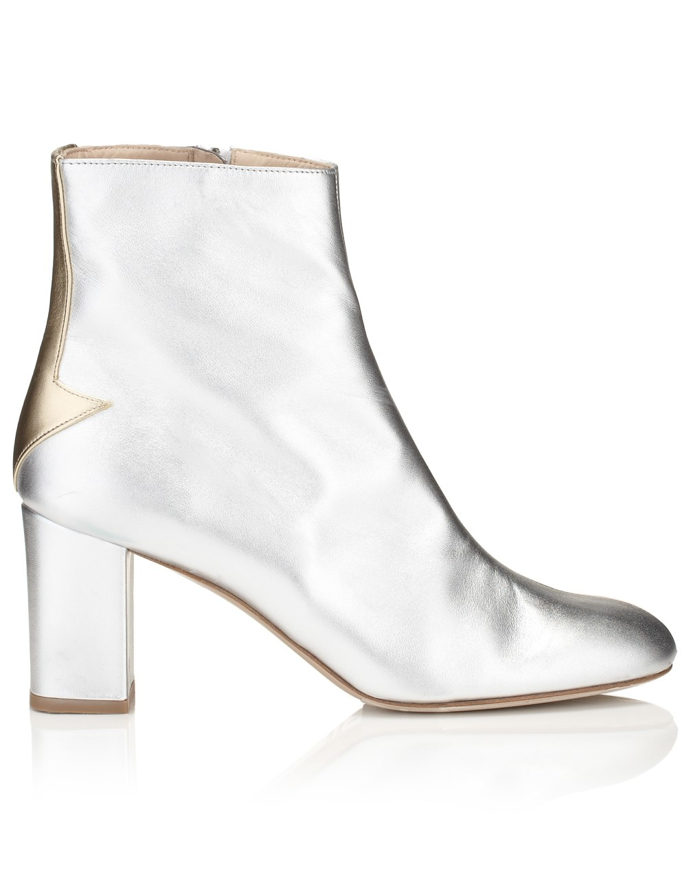 Silver Ankle Boots d6mO6LDg