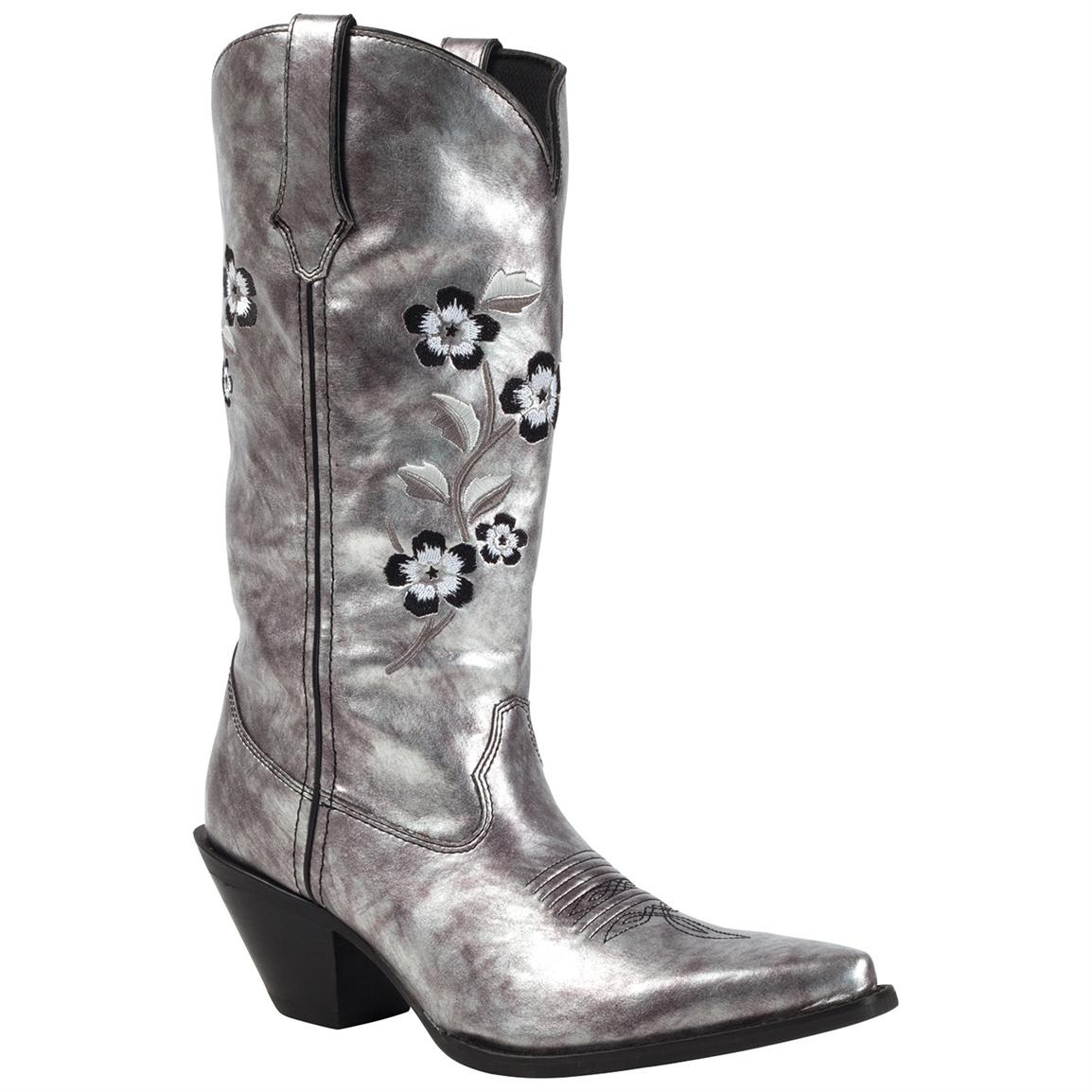 Silver Cowgirl Boots GDcHxdWa