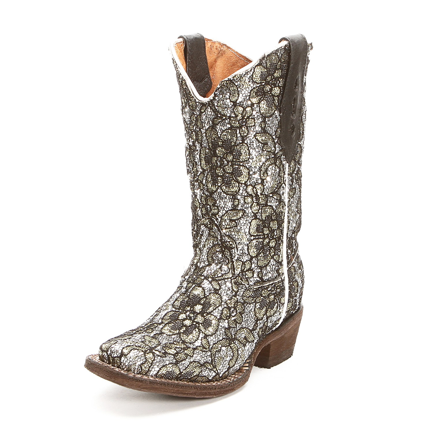 Silver Cowgirl Boots 41bzSST6