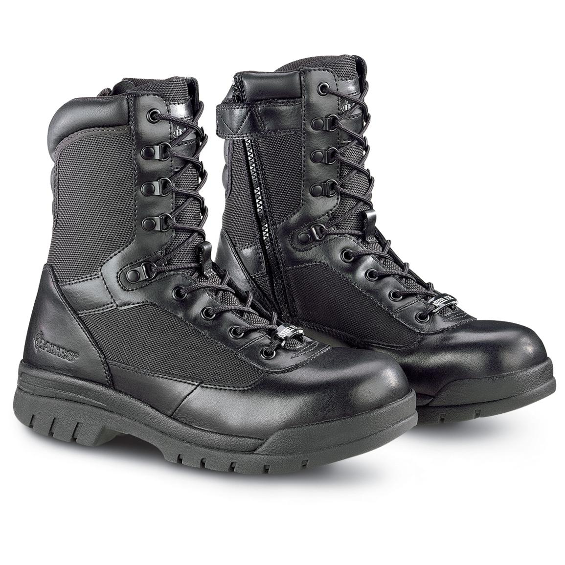Steel Toe Combat Boots sAYvuEDE