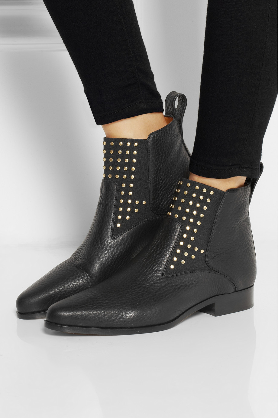 Studded Ankle Boots 5VrMocQS