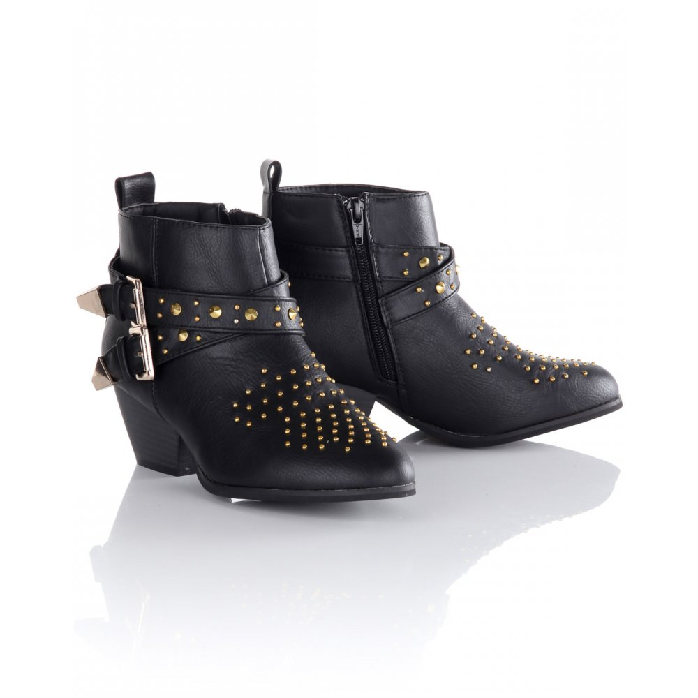Studded Ankle Boots uzDU7y7k