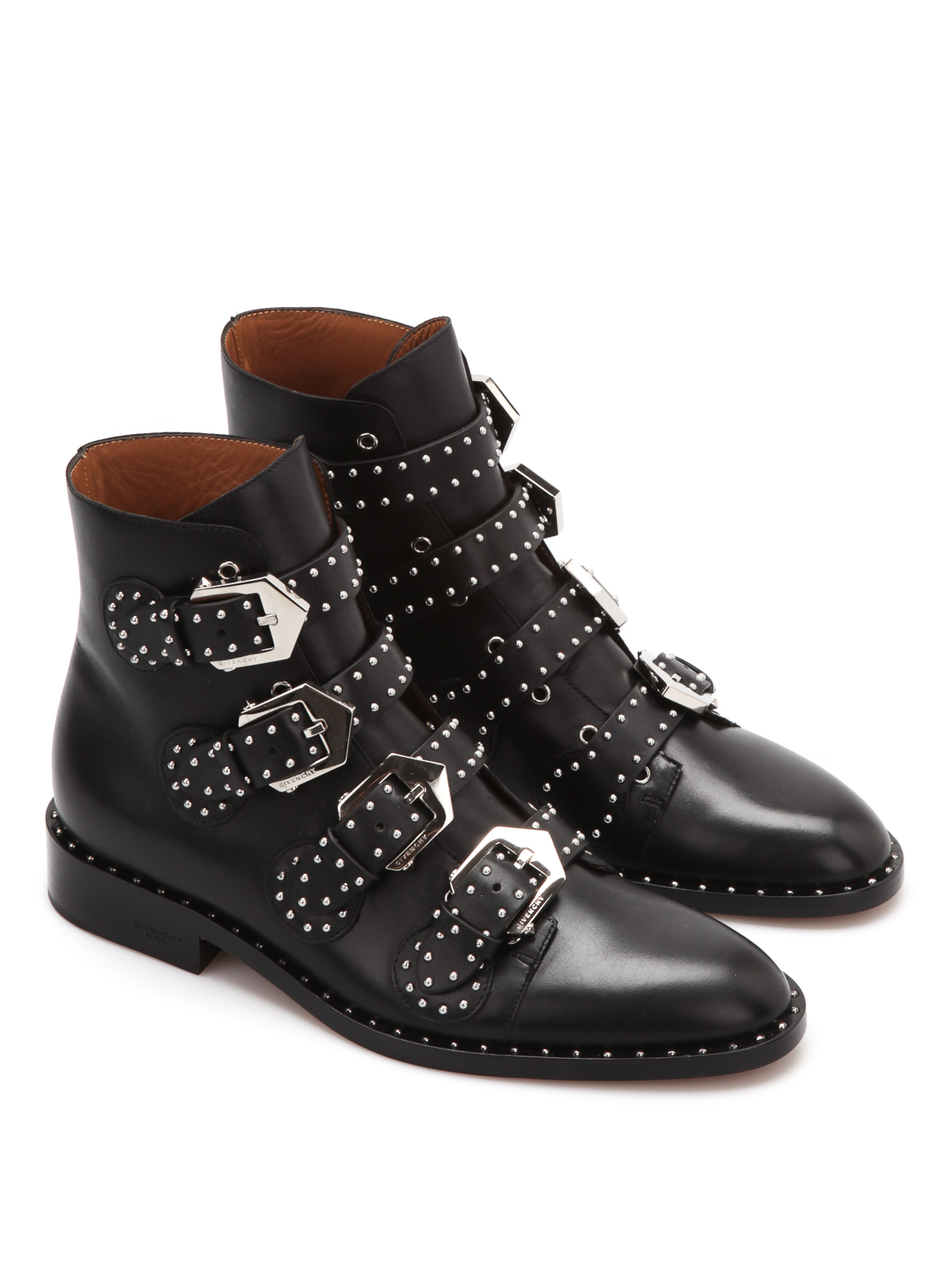 Studded Ankle Boots Boot Yc