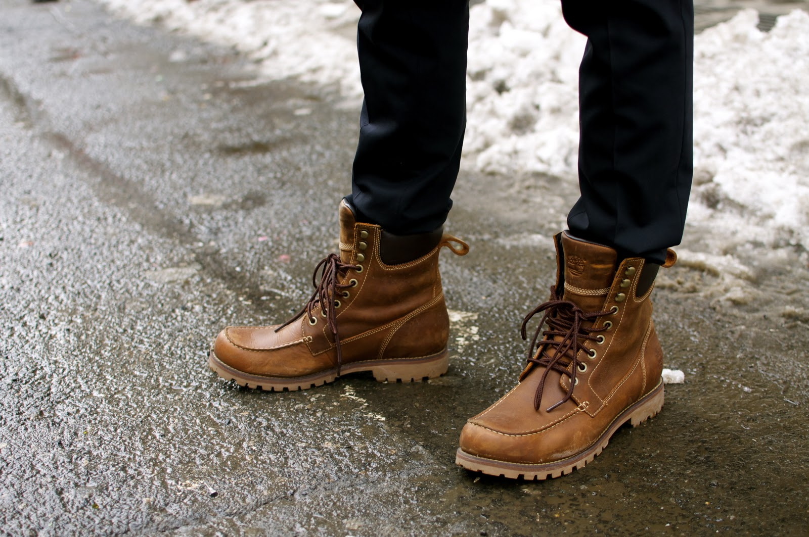 Stylish Mens Winter Boots H38aSygx