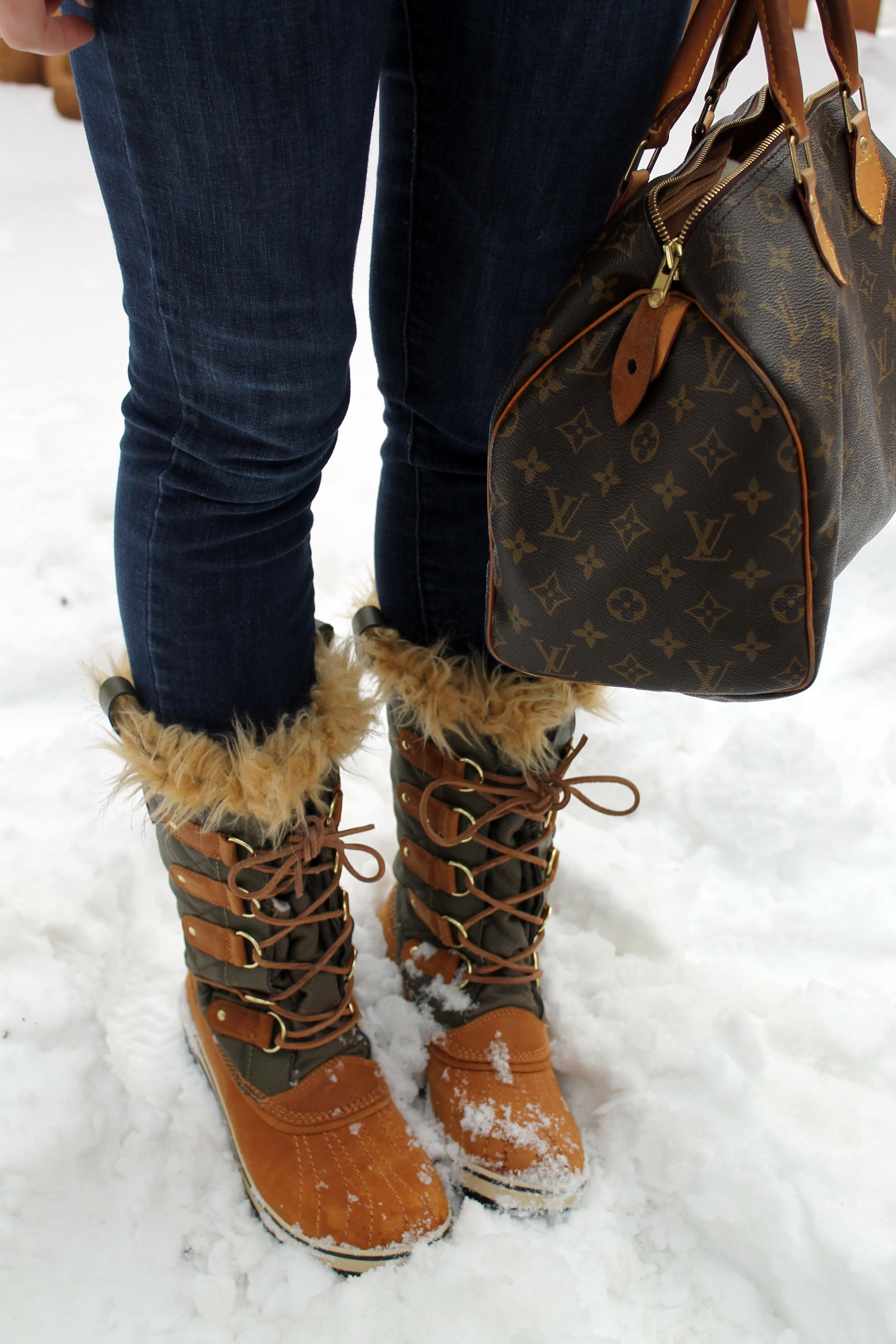 Stylish Snow Boots fUlCuImf