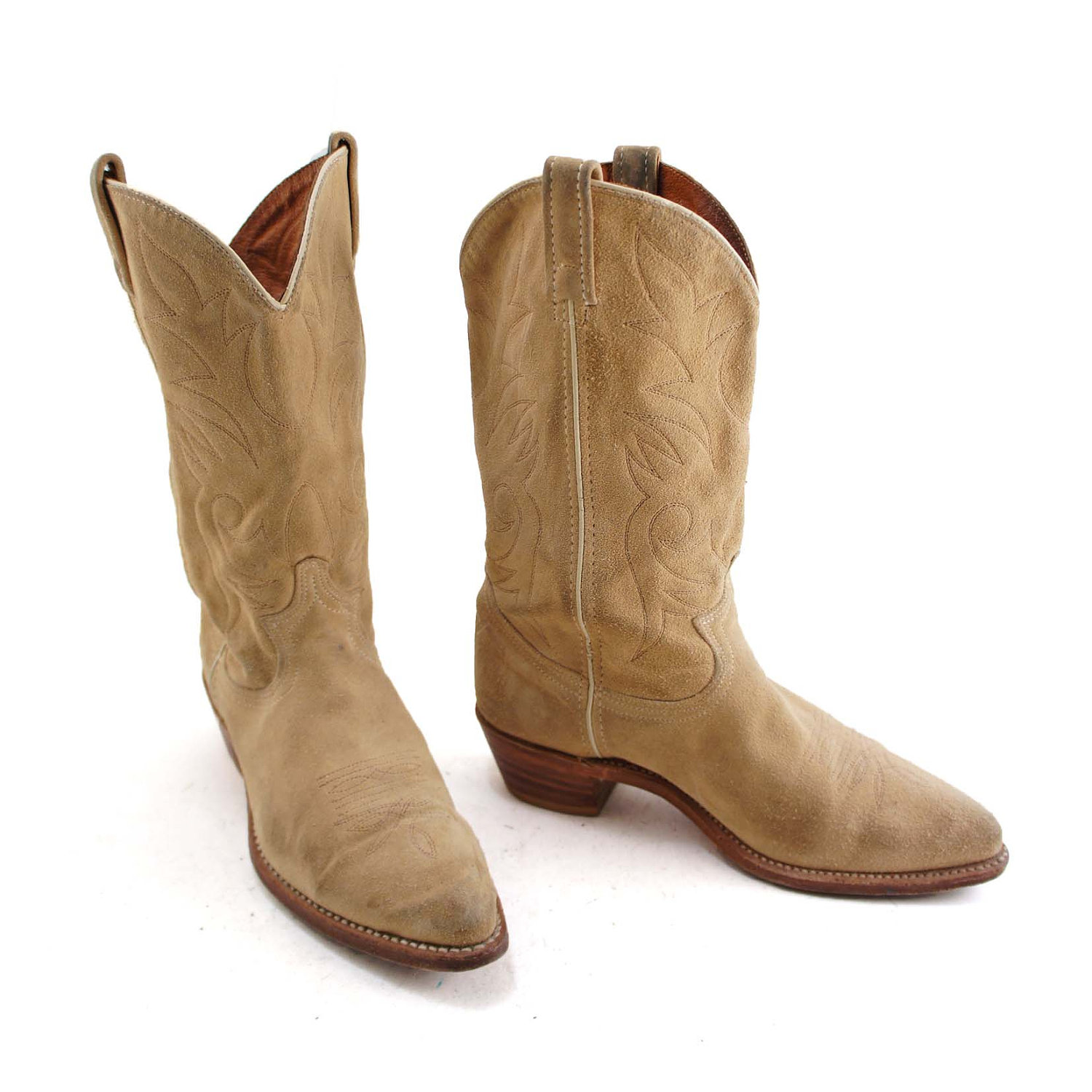 Suede Cowboy Boots OH8FaN6R